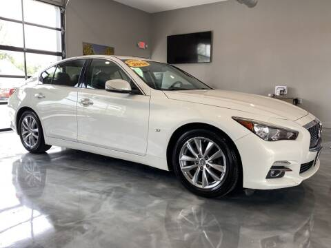 2014 Infiniti Q50 for sale at Crossroads Car & Truck in Milford OH