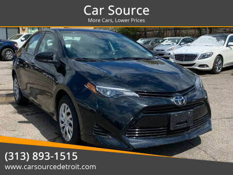2019 Toyota Corolla for sale at Car Source in Detroit MI