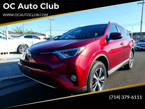 2018 Toyota RAV4 for sale at OC Auto Club in Midway City CA