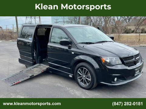 2014 Dodge Grand Caravan for sale at Klean Motorsports in Skokie IL