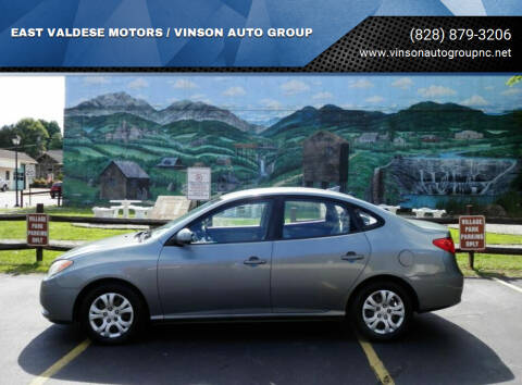 2010 Hyundai Elantra for sale at EAST VALDESE MOTORS / VINSON AUTO GROUP in Valdese NC
