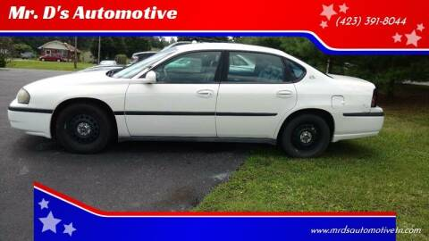 2005 Chevrolet Impala for sale at Mr. D's Automotive in Piney Flats TN