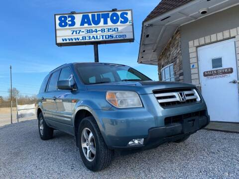 2008 Honda Pilot for sale at 83 Autos in York PA