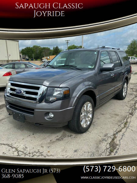 2013 Ford Expedition for sale at Sapaugh Classic Joyride in Salem MO