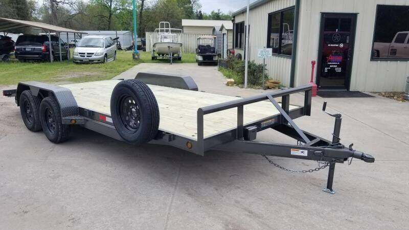 2021 C-5 18' Car Hauler for sale at Montgomery Trailer Sales in Conroe TX