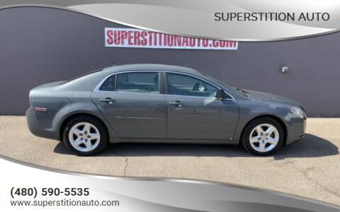 2009 Chevrolet Malibu for sale at Superstition Auto in Mesa AZ