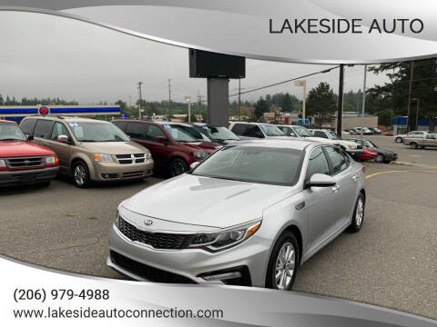 2019 Kia Optima for sale at Lakeside Auto in Lynnwood WA