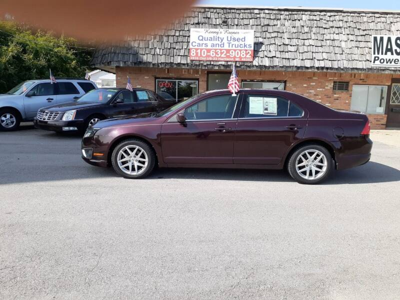 2012 Ford Fusion for sale at Kenny's Korner in Hartland MI