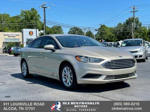 2017 Ford Fusion for sale at Ole Ben Franklin Motors Clinton Highway in Knoxville TN
