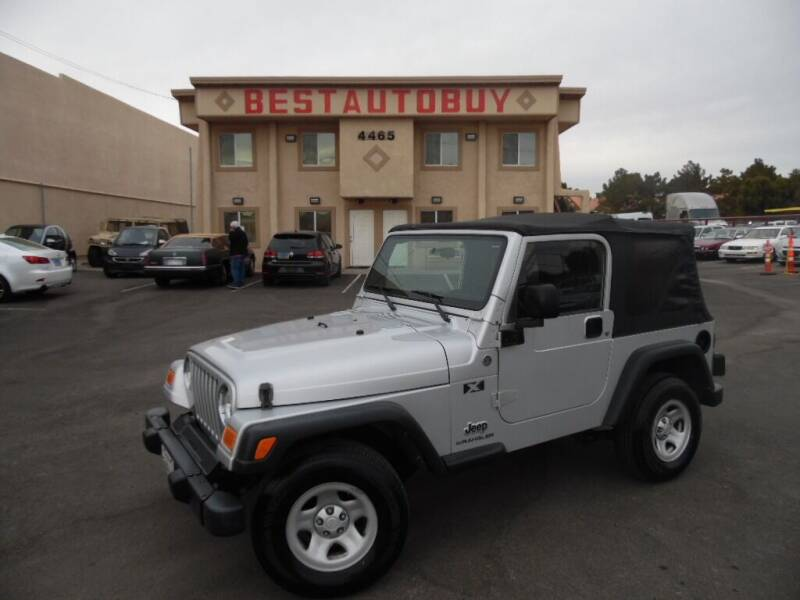 2005 Jeep Wrangler for sale at Best Auto Buy in Las Vegas NV