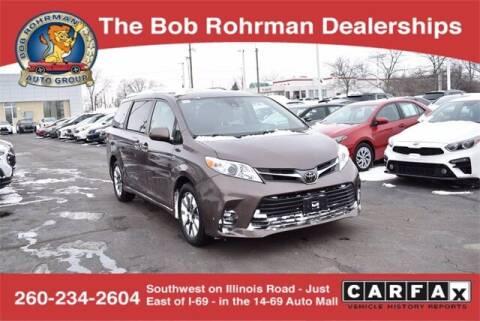2018 Toyota Sienna for sale at BOB ROHRMAN FORT WAYNE TOYOTA in Fort Wayne IN