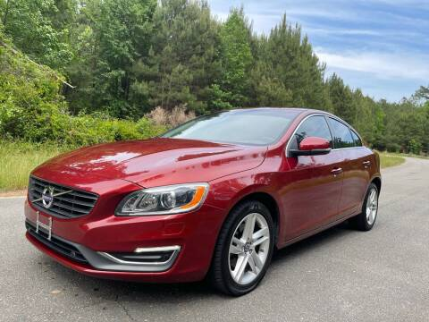 2015 Volvo S60 for sale at Carrera AutoHaus Inc in Clayton NC