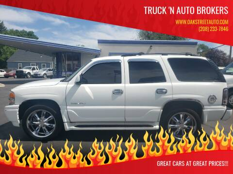 2006 GMC Yukon for sale at Oak Street Auto DBA Truck 'N Auto Brokers in Pocatello ID