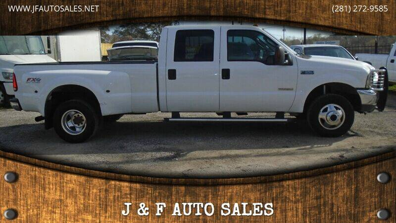 2004 Ford F-350 Super Duty for sale at J & F AUTO SALES in Houston TX
