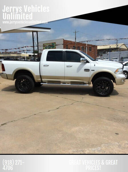 2012 RAM Ram Pickup 1500 for sale at Jerrys Vehicles Unlimited in Okemah OK