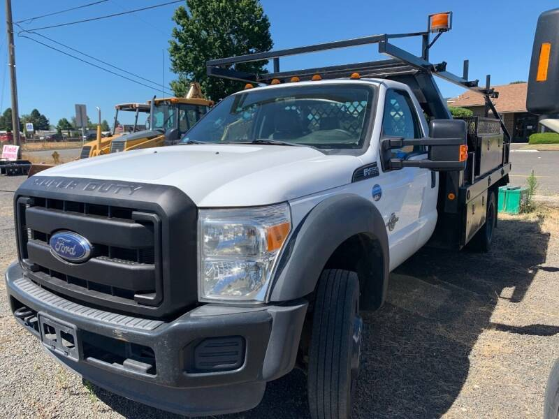 2014 Ford F-450 for sale at DirtWorx Equipment - Trucks in Woodland WA