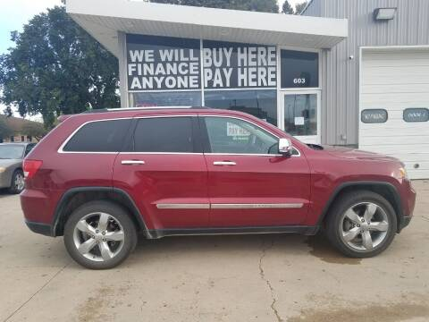 2013 Jeep Grand Cherokee for sale at STERLING MOTORS in Watertown SD