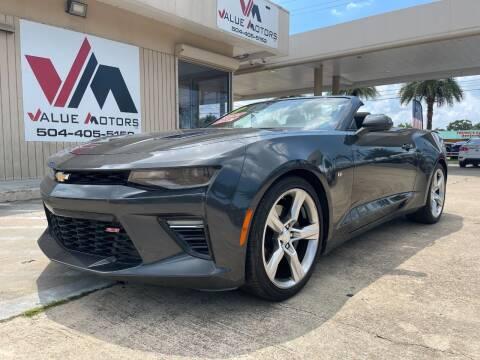 2017 Chevrolet Camaro for sale at VALUE MOTORS in Kenner LA