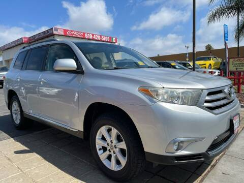 2011 Toyota Highlander for sale at CARCO SALES & FINANCE in Chula Vista CA