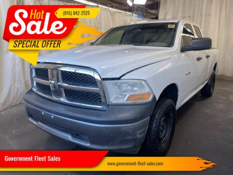 2010 Dodge Ram Pickup 1500 for sale at Government Fleet Sales in Kansas City MO