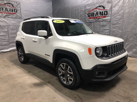 2017 Jeep Renegade for sale at GRAND AUTO SALES in Grand Island NE