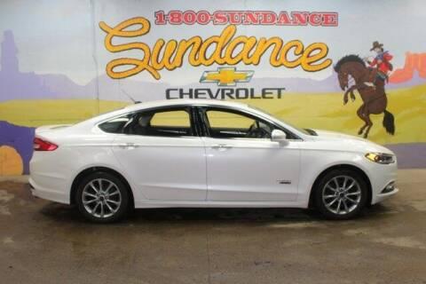 2017 Ford Fusion Energi for sale at Sundance Chevrolet in Grand Ledge MI