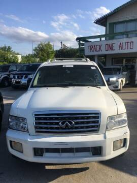 2006 Infiniti QX56 for sale at Track One Auto Sales in Orlando FL