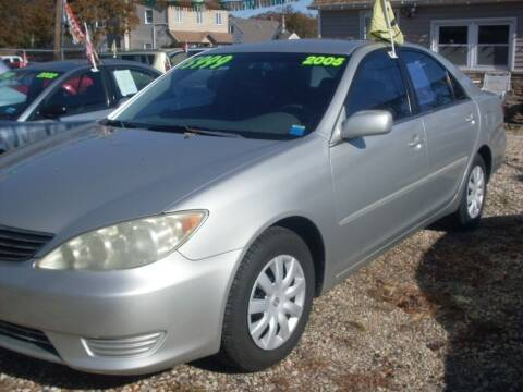 2005 Toyota Camry for sale at Flag Motors in Islip Terrace NY