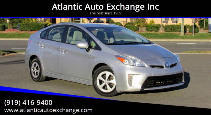 2014 Toyota Prius for sale at Atlantic Auto Exchange Inc in Durham NC
