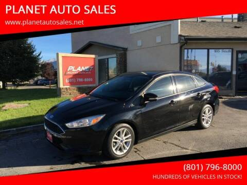2016 Ford Focus for sale at PLANET AUTO SALES in Lindon UT