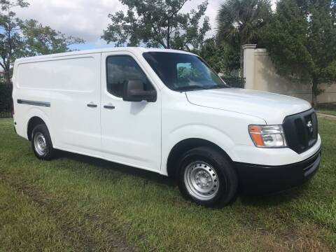 2015 Nissan NV Cargo for sale at Kaler Auto Sales in Wilton Manors FL