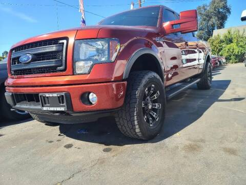 2014 Ford F-150 for sale at Rey's Auto Sales in Stockton CA