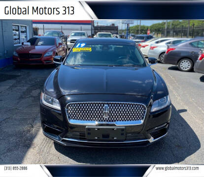 2019 Lincoln Continental for sale at Global Motors 313 in Detroit MI