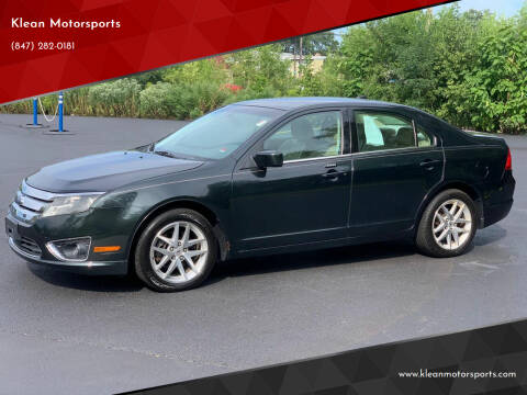 2010 Ford Fusion for sale at Klean Motorsports in Skokie IL