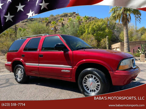 2000 GMC Jimmy for sale at Baba's Motorsports, LLC in Phoenix AZ