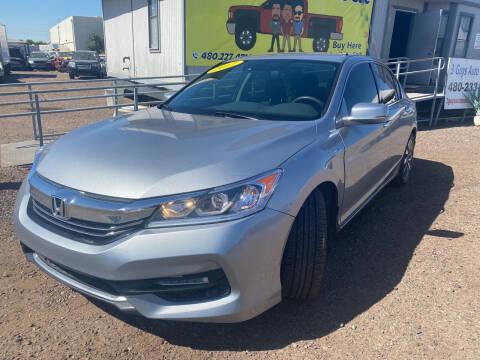 2017 Honda Accord Hybrid for sale at 3 Guys Auto Sales LLC in Phoenix AZ
