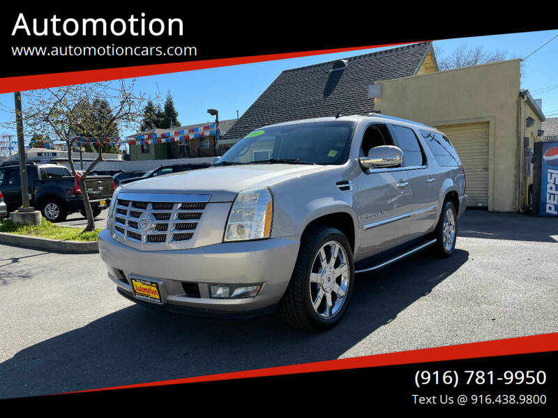 2009 Cadillac Escalade ESV for sale at Automotion in Roseville CA