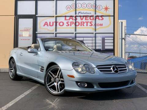 2007 Mercedes-Benz SL-Class for sale at Las Vegas Auto Sports in Las Vegas NV