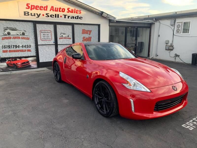 2016 Nissan 370Z for sale at Speed Auto Sales in El Cajon CA