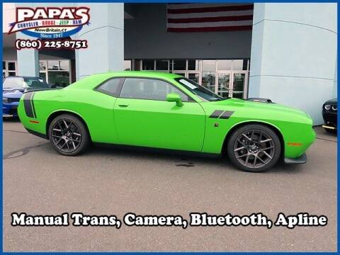 2017 Dodge Challenger for sale at Papas Chrysler Dodge Jeep Ram in New Britain CT