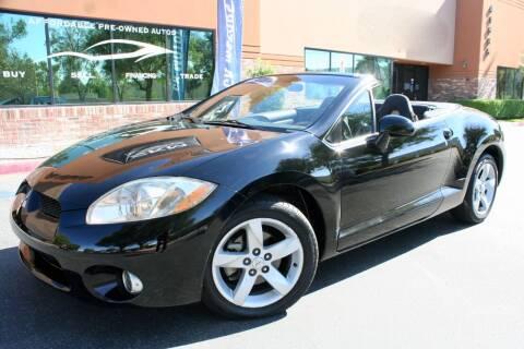 2007 Mitsubishi Eclipse Spyder for sale at CK Motors in Murrieta CA