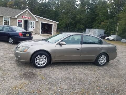 2006 Nissan Altima for sale at MIKE B CARS LTD in Hammonton NJ