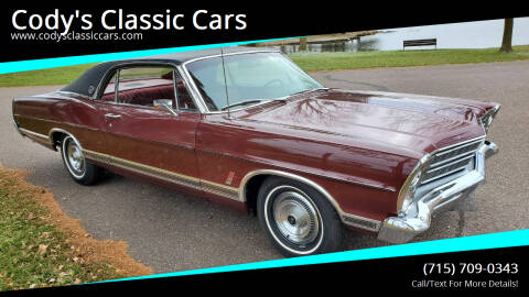 1967 Ford LTD for sale at Cody's Classic Cars in Stanley WI