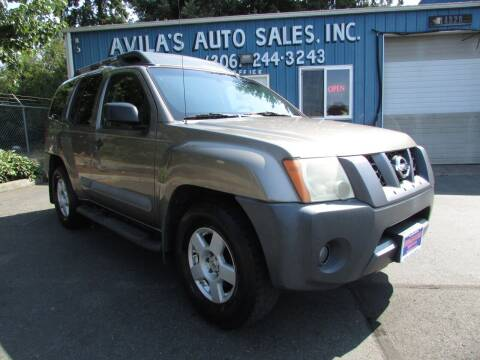 2005 Nissan Xterra for sale at Avilas Auto Sales Inc in Burien WA