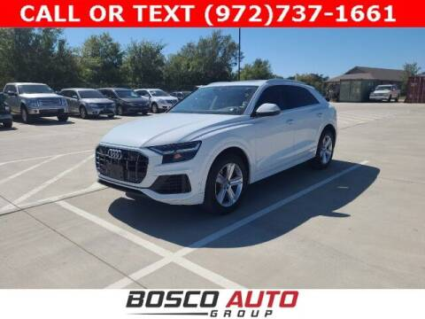 2019 Audi Q8 for sale at Bosco Auto Group in Flower Mound TX