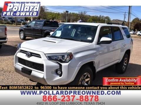 2021 Toyota 4Runner for sale at South Plains Autoplex by RANDY BUCHANAN in Lubbock TX