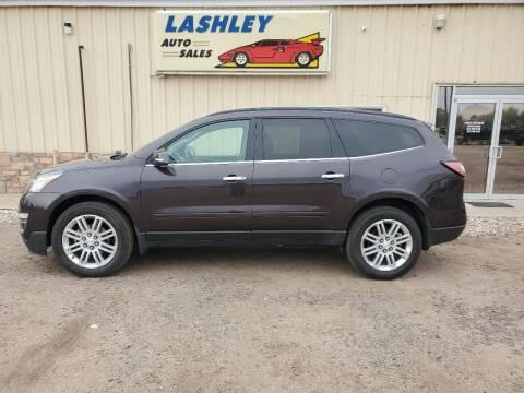 2015 Chevrolet Traverse for sale at Lashley Auto Sales in Mitchell NE