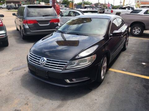 2013 Volkswagen CC for sale at 4 Girls Auto Sales in Houston TX