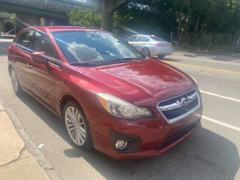 2013 Subaru Impreza for sale at Mecca Auto Sales in Newark NJ