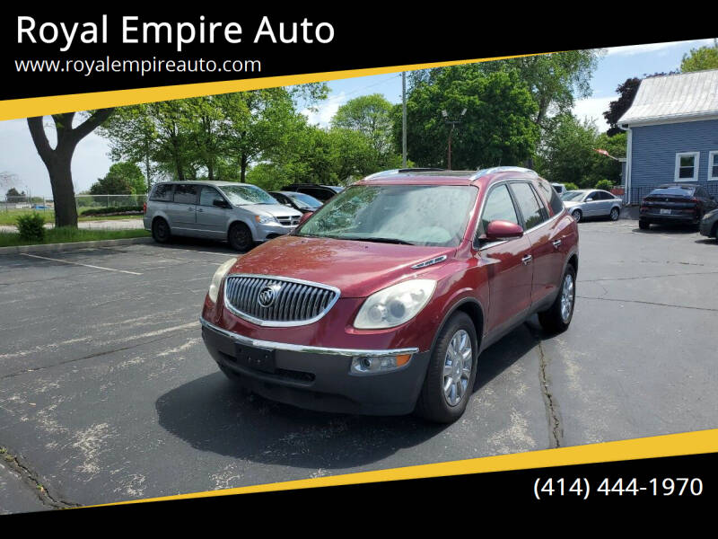 2011 Buick Enclave for sale at Royal Empire Auto in Milwaukee WI